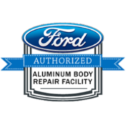 authorized aluminum auto body repair facility